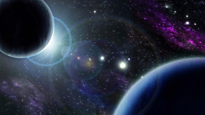 Натяжные потолки - звездное небо