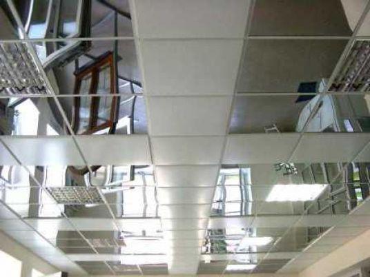 Металлические натяжные потолки