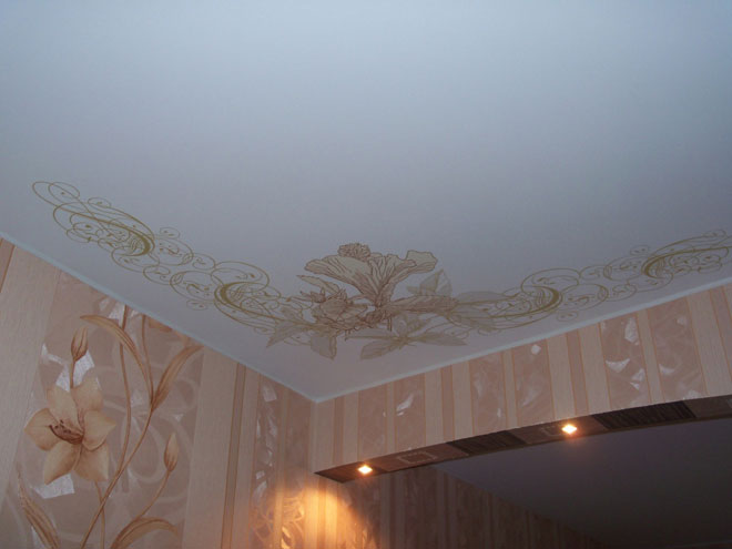 Шутерсток натяжные потолки печать