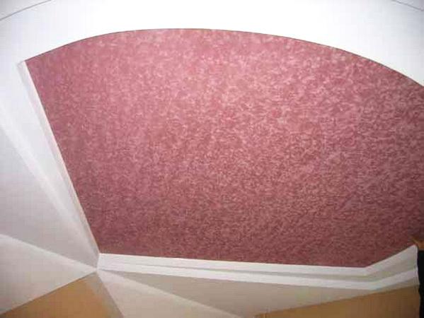 Замшевые потолки натяжные