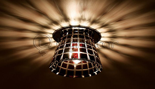 Дизайн освещения натяжных потолков