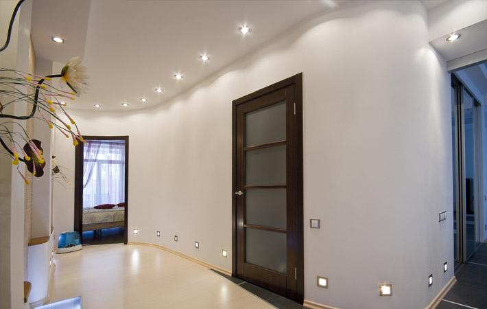 Потолки в холле дизайн фото